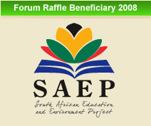 Forum Raffle Beneficiary 2008
